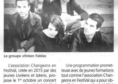 Article Petit Journal de Vitré