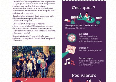 Article bulletin / Livré sur Changeon